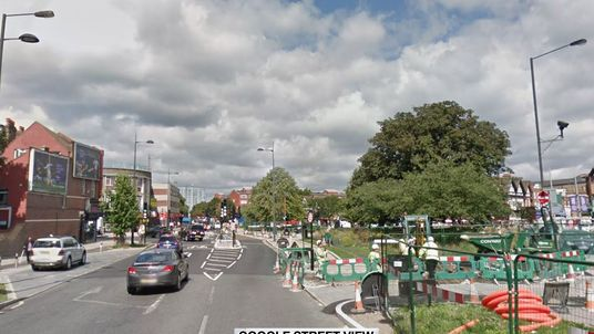 The stabbing happened in Mitcham, South London