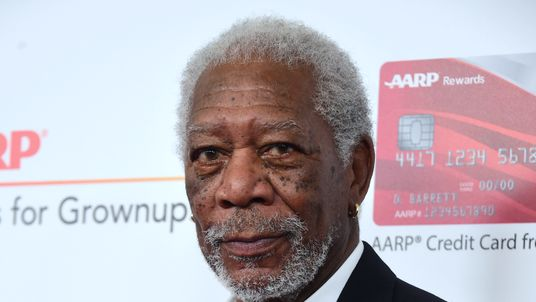 Actor Morgan Freeman arrives for the 16th Annual AARP Movies for Grownups Awards on February 6, 2017 in Beverly Hills, California. / AFP / Frederic J. Brown (Photo credit should read FREDERIC J. BROWN/AFP/Getty Images)