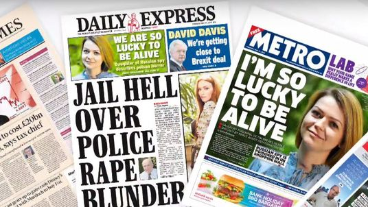 Yulia Skripal's first interview on camera since the Salisbury nerve agent attack has made the front pages