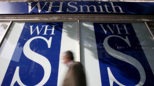 WHSmith shop in London