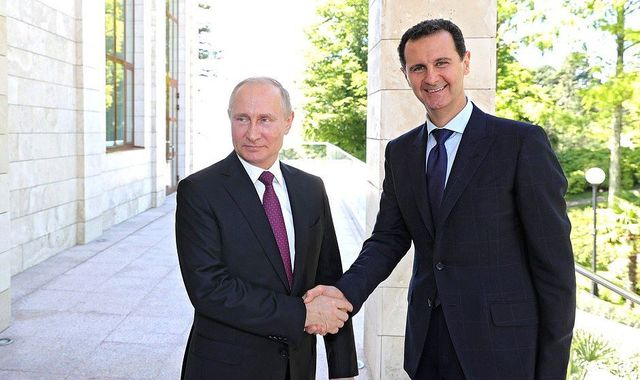 Syrian President Assad tells Putin: 'Door open to political process'