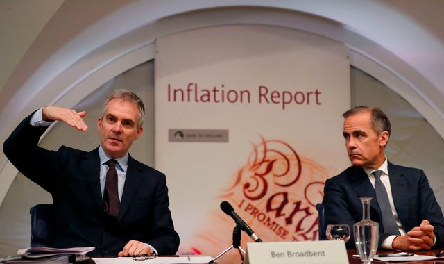 Bank of England Official 'Sorry' He Compared Economy to Menopause