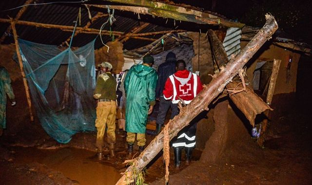 At least 21 people killed as Kenyan dam bursts following heavy rains