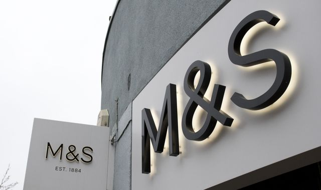 Britain's M&S sees profit fall for second straight year