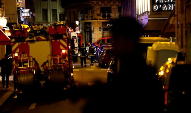 Four hurt after man launches knife attack in Paris