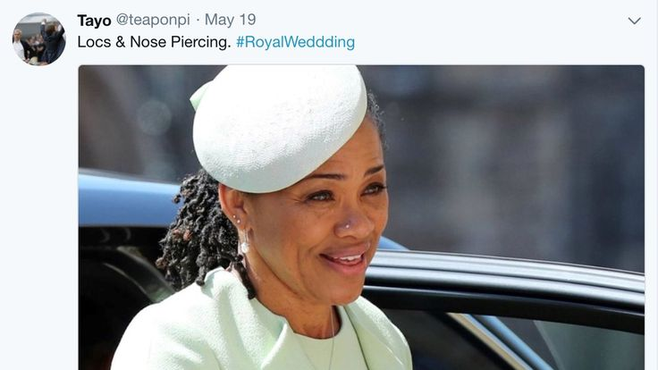 Many thought Meghan's mother was a breath of fresh air at the wedding