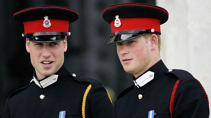 Harry at Sandhurst in 2006 before joining the Blues and Royals