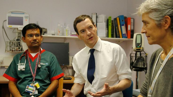 George Osborne promised major investment in the NHS if the Conservatives won the 2015 election