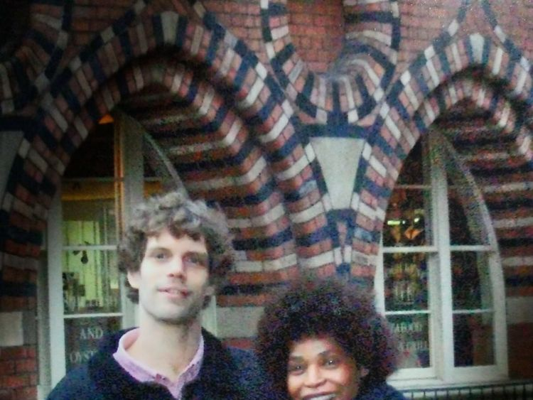 Berlinah Wallace and Mark Van Dongen