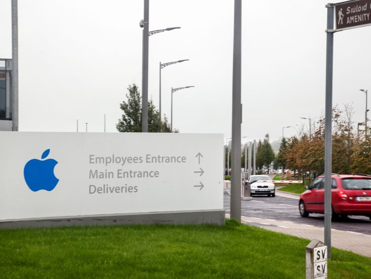 Apple's headquarters in Cork