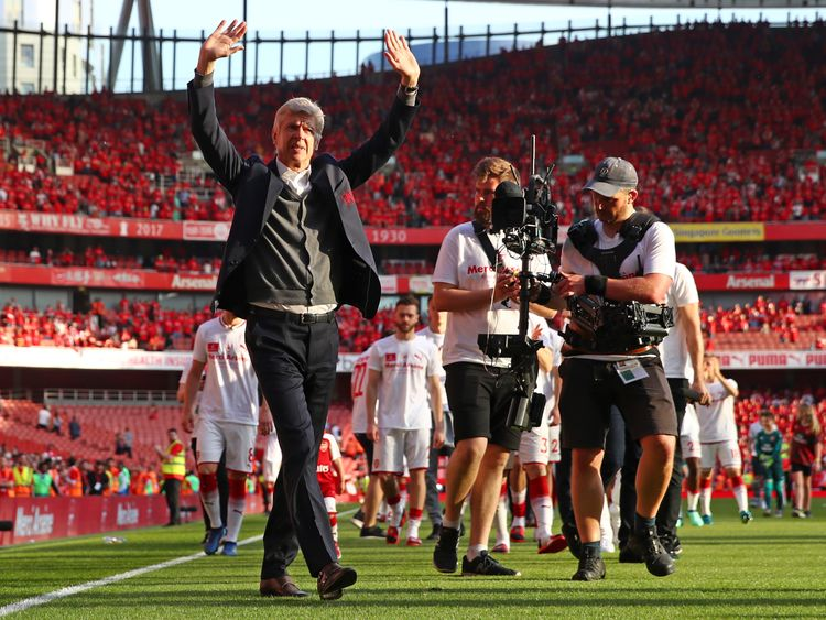 Arsenal thanked the fans and urged to get behind the team
