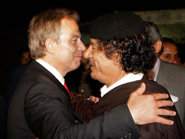 Government apology for Gaddafi torture victim