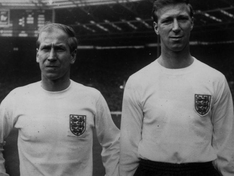 Bobby (L) und Jack Charlton