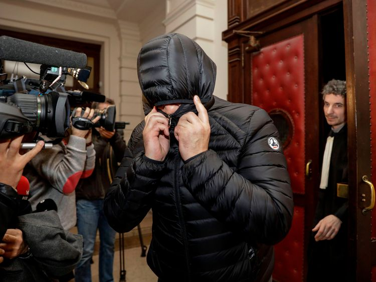 The acquitted leave court in Brussels
