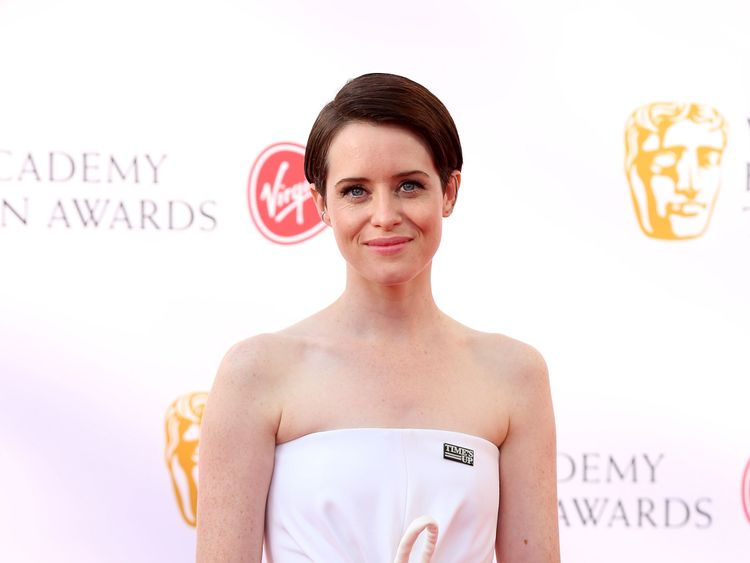 Claire Foy attending the Virgin TV British Academy Television Awards 2018 held at the Royal Festival Hall, Southbank Centre, London. PRESS ASSOCIATION Photo. Picture date: Sunday May 13, 2018. See PA story SHOWBIZ Bafta. Photo credit should read: Isabel Infantes/PA Wire
