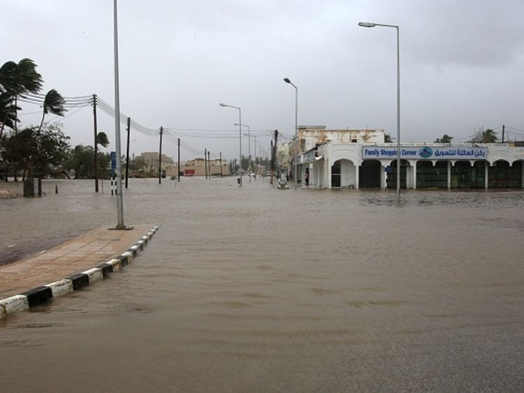 Salalah has had three-years worth of its typical rainfall in one day