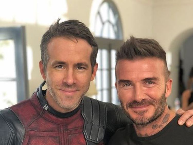 Deadpool 'sorry' for Beckham voice joke