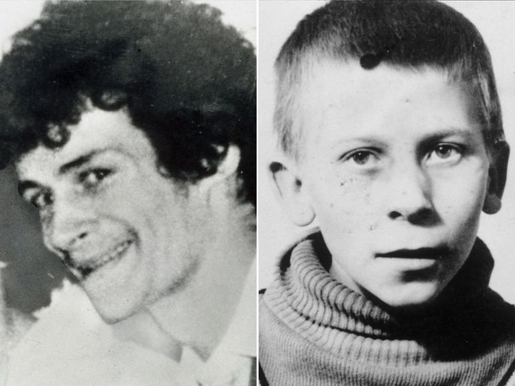 (L-R) Victims William Sutherland and Malcolm Barlow