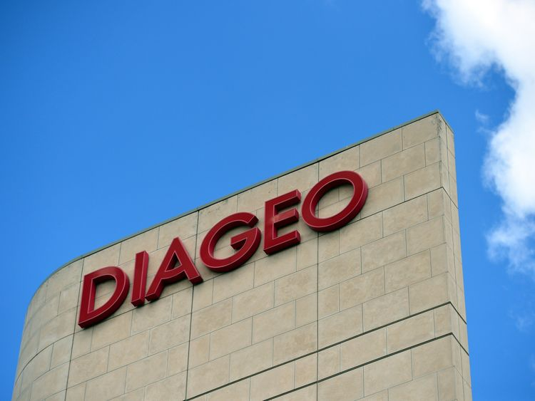 Diageo's brands include Guinness and Johnnie Walker