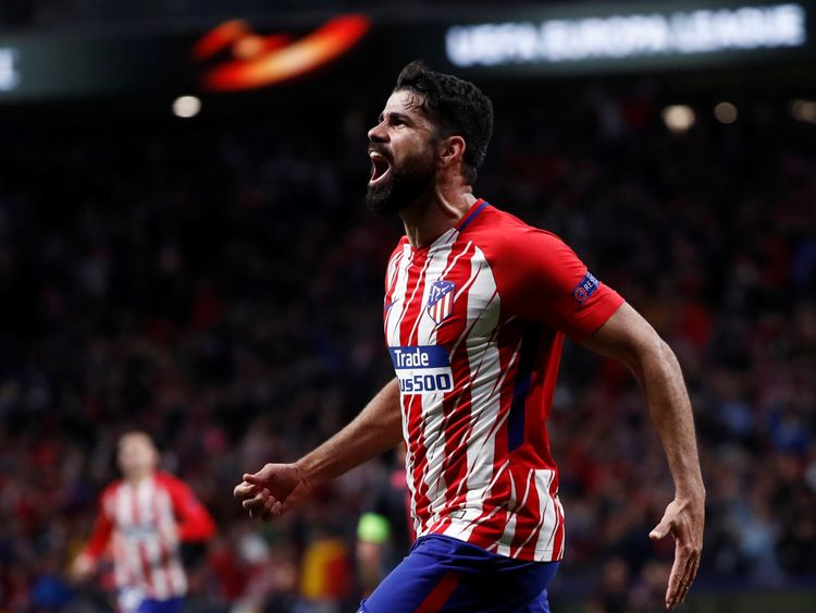 Diego Costa scored the only goal in the second leg