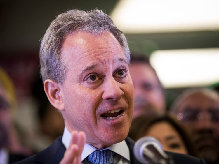 New York Attorney General Eric Schneiderman has resigned following accusations of physical violence towards four women.