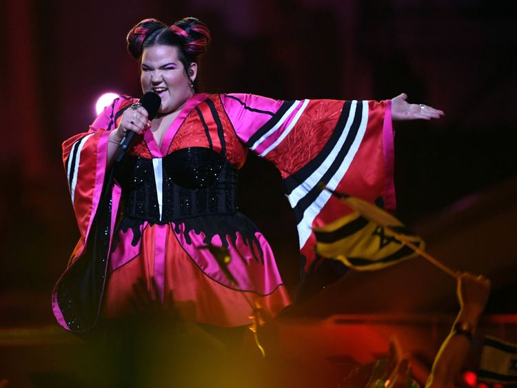 Israel's Netta could be the most eccentric performer this year