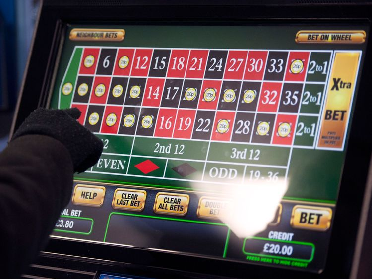 Gamblers can bet up to £100 every 20 seconds on fixed-odds betting terminals