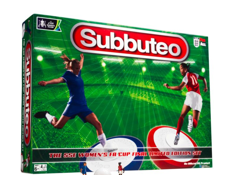 Subbuteo launches female set - but it's not on sale