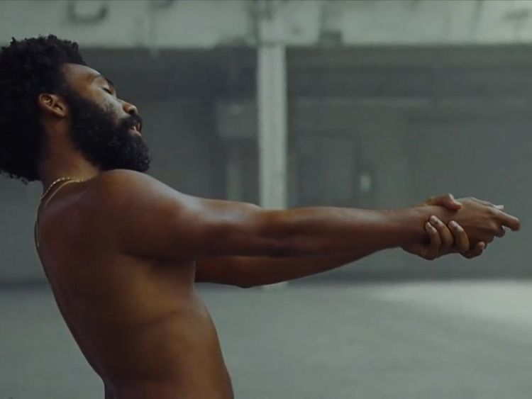 Is this a reference being criticised by Gambino?