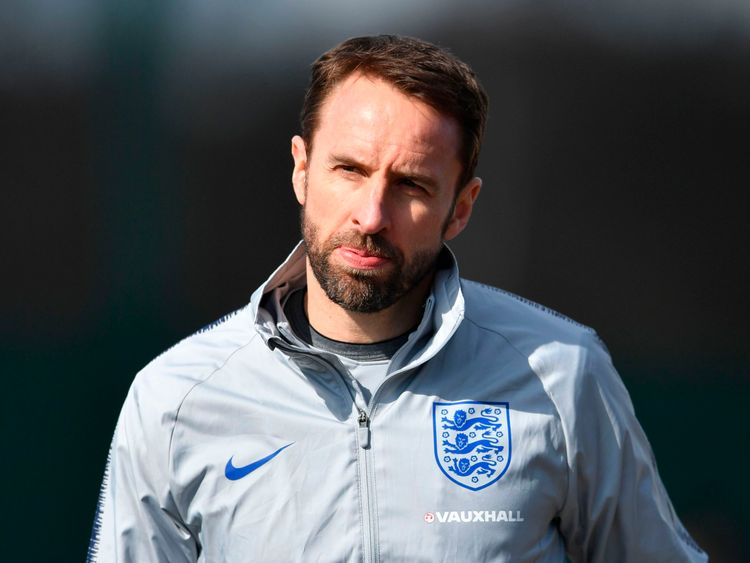 There will not be an anthem to support Gareth Southgate's team this year