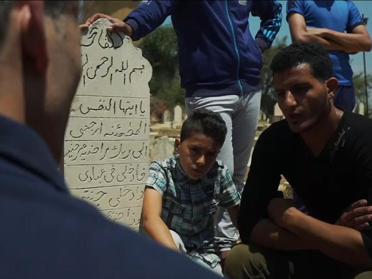 Gaza: A portrait of grief after day of violence