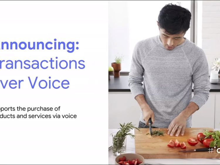 Google will have to encourage the use of screen based voice activated devices