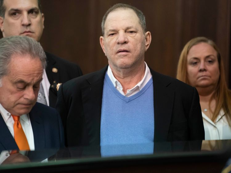 Harvey Weinstein Facing Life Behind Bars After New Sexual Assault Charges