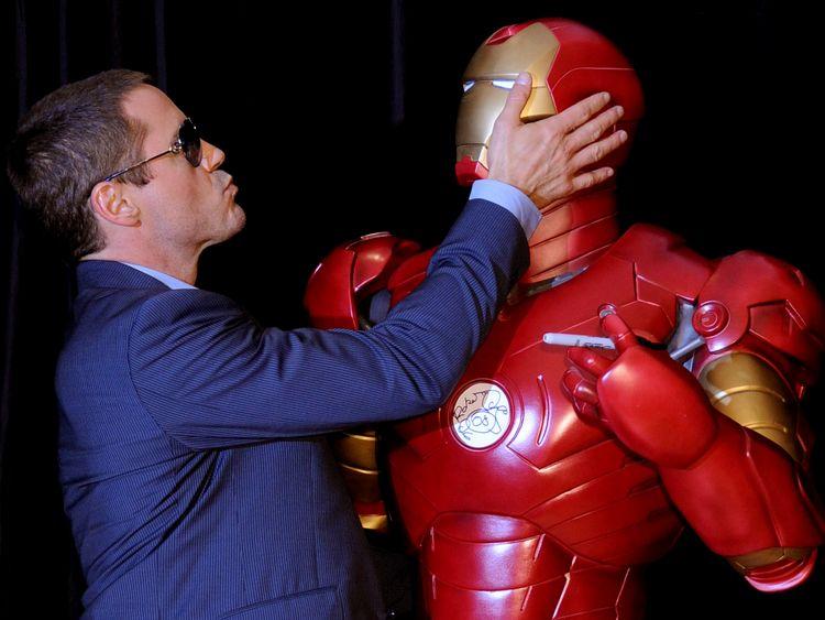 Downey's original Iron Man costume is stolen