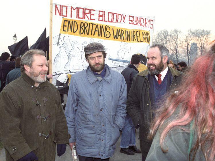 Corbyn 'not advocating' Irish unity referendum