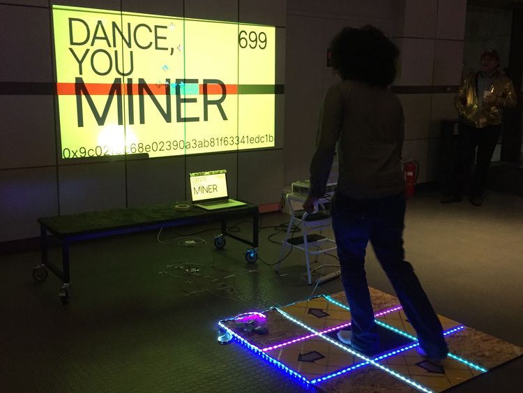 In the future, you'll mine cryptocurrency by dancing
