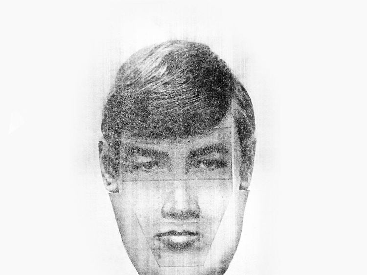 An e-fit of a man investigators want to trace
