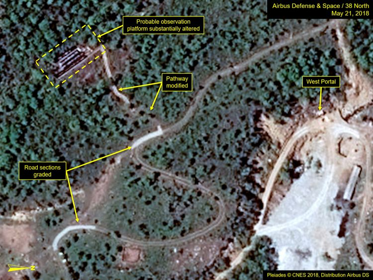 N Korea seeks 'peace' after 'nuclear site' demolition