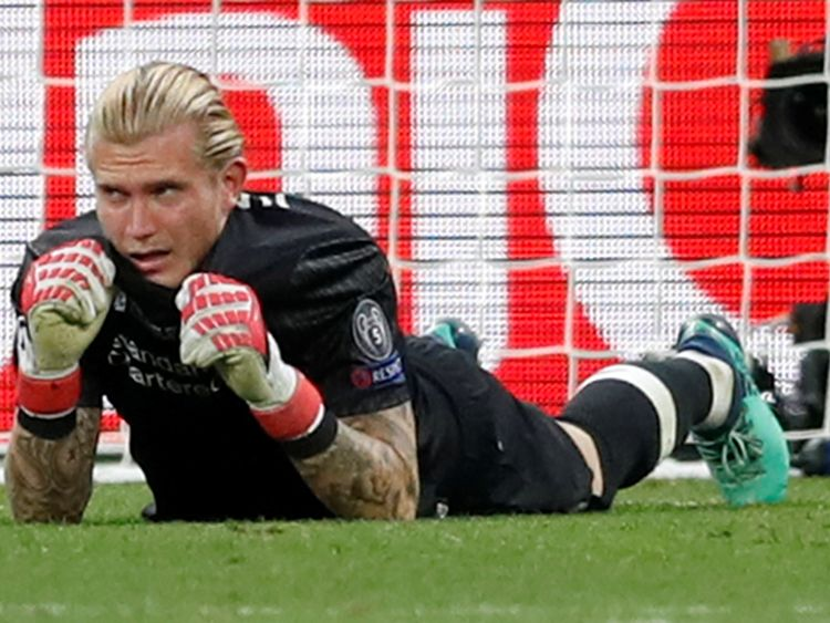 Loris Karius apologised for letting team and fans down