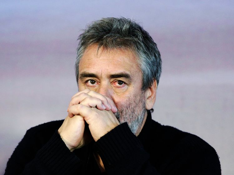 Actress accuses director Luc Besson of rape