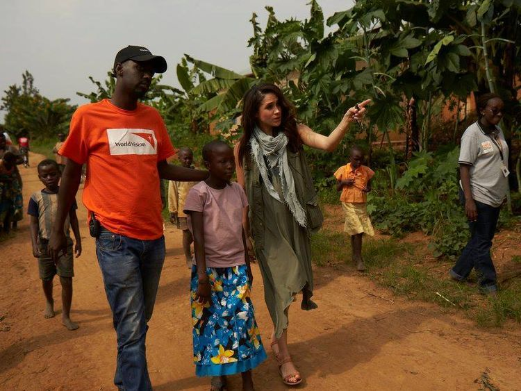 Meghan Markle in Rwanda with World Vision in 2016