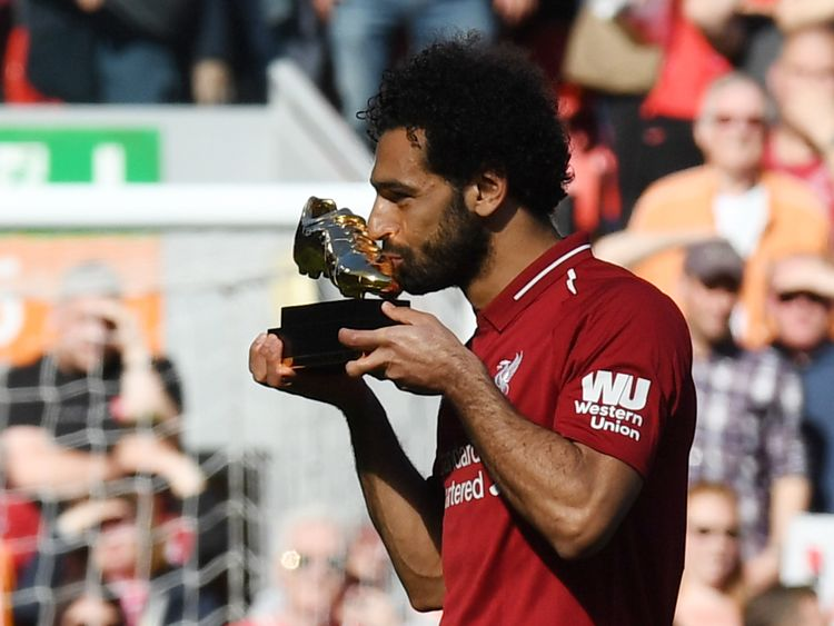 Mo Salah won the Golden Boot for the 2017/18 season