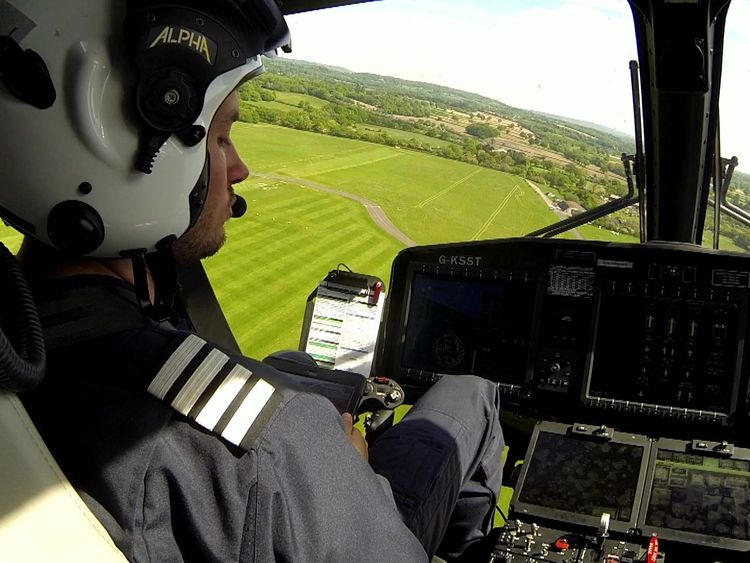 The technology is being used by Kent, Surrey and Sussex Air Ambulance