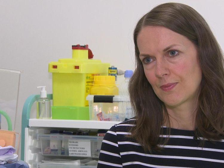 Sarah-Jane Marsh, chief executive of Birmingham Women's & Children's NHS Trust
