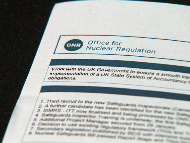 Red warnings for post-Brexit nuclear safeguards