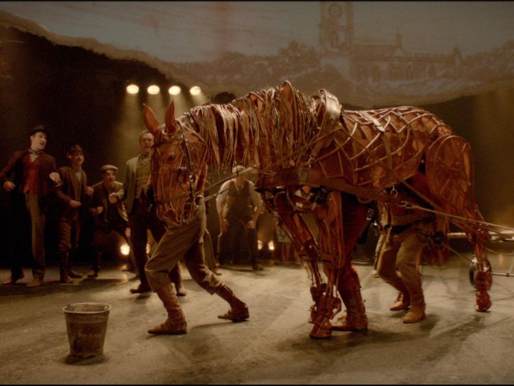 Energy-sapping lighting is used to produce award-winning productions such as War Horse