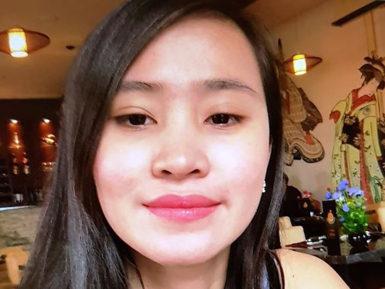 Jastine Valdez, 24, from Enniskerry