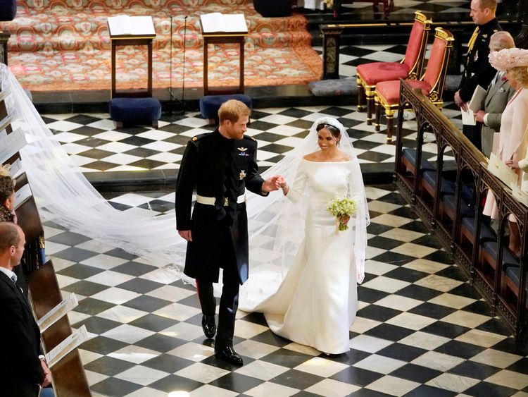 Harry and Meghan's wedding choir sign record deal