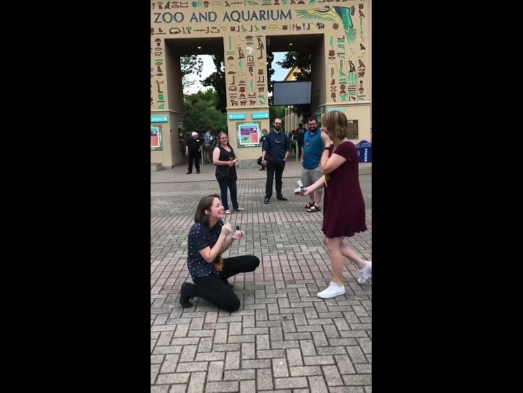 Jessa and Becky ended up proposing to each other