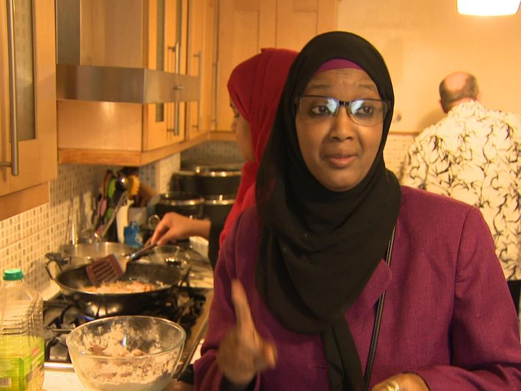 Samia Bashir said she has to go to several supermarkets to get all the different food for Ramadan feasts